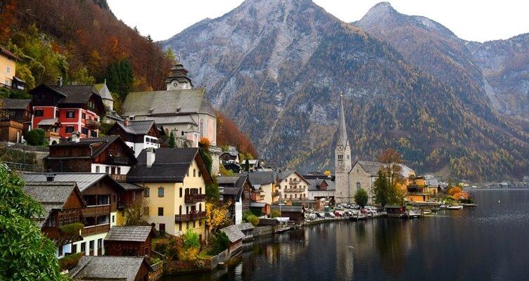 Австрия маленькая страна в самом центре Европы