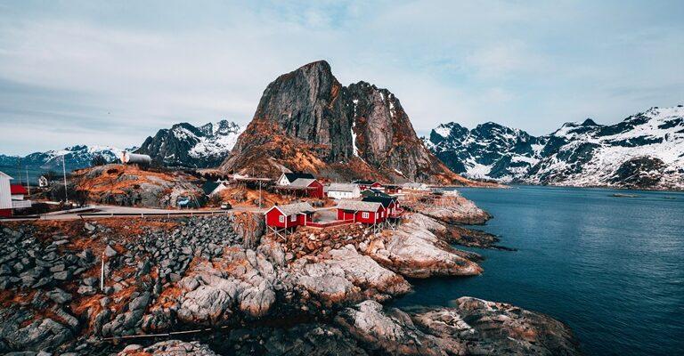 Норвегия красивая страна