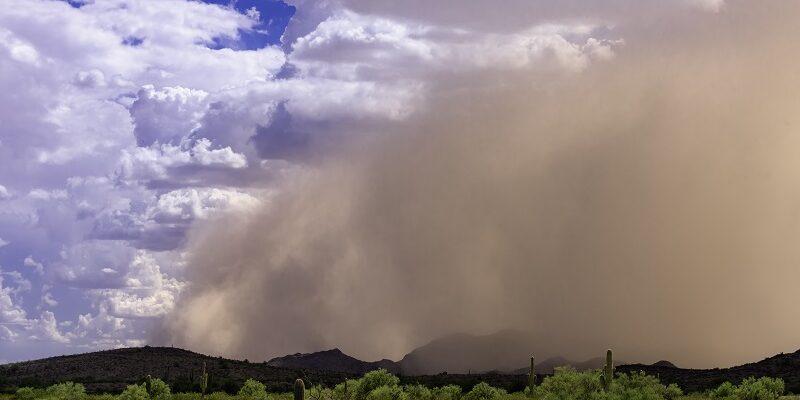 Пыльные и песчаные бури