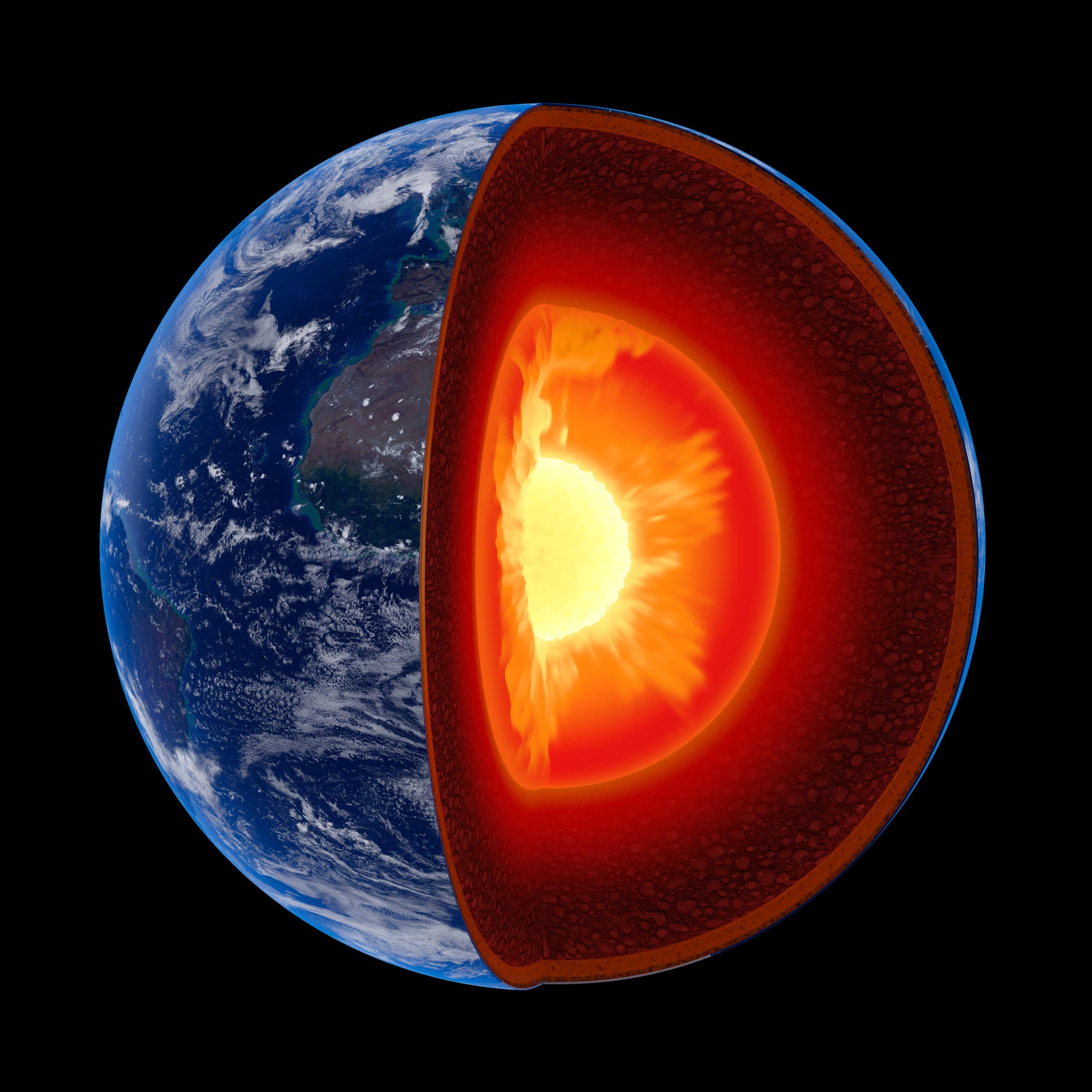 Структура ядра земли