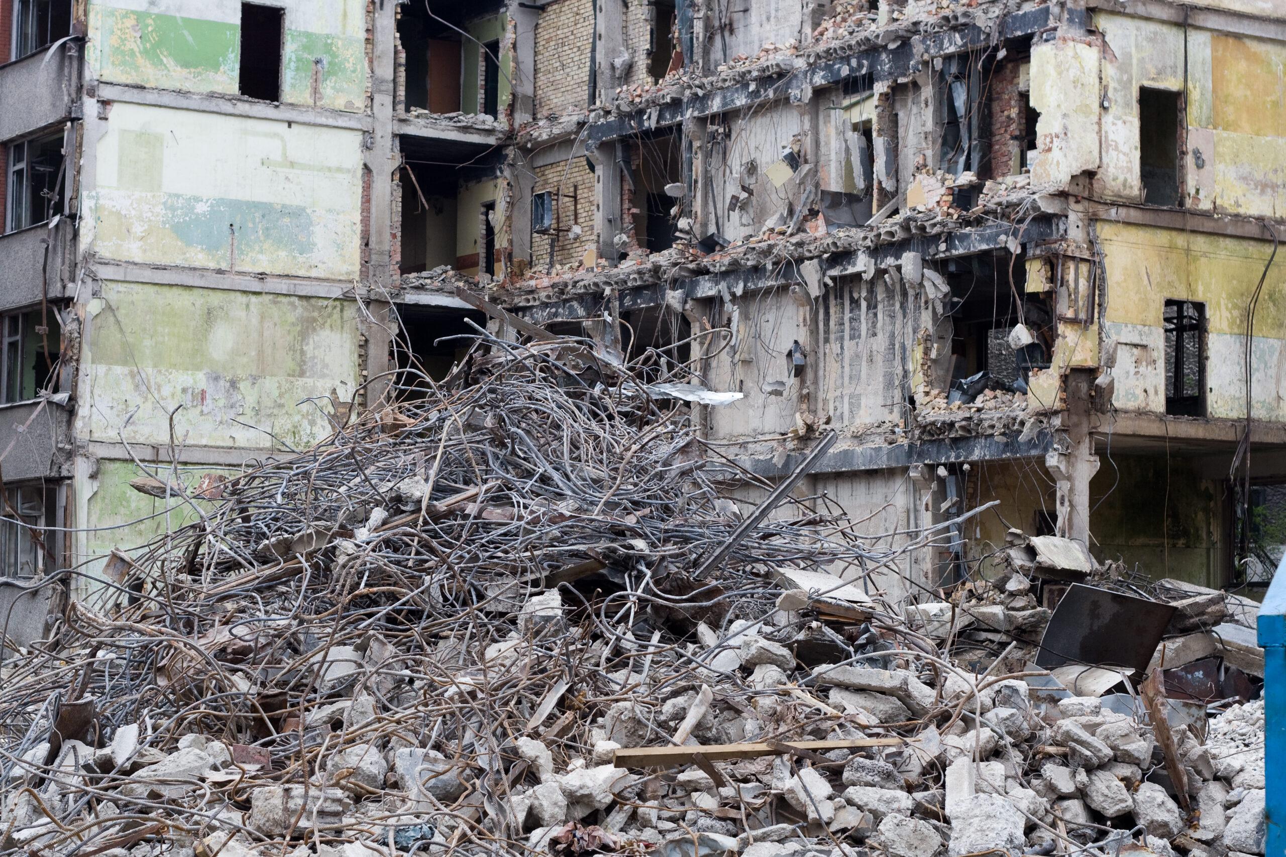 разрушения от землетрясения
